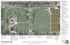 San Francisco Planning Map by Mission Dolores Park Improvements San Francisco Recreation And Park