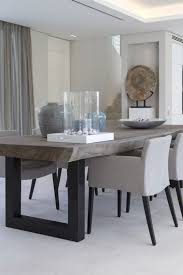 modern dining room furniture modern dining room table white black legs chairs cloth cover large