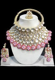 necklace choker set images Polki studded choker necklace set jjr16120 jpg