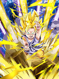 release super saiyan goku gt dragon ball dokkan