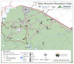 Stone Mountain Map Tabor Mountain Recreation Society