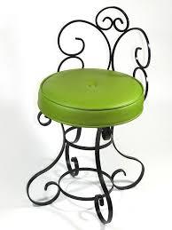 Vanity Chair Stool Wrought Iron Vanity Chair
