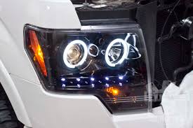 2009 2014 f150 raptor recon projector headlights w ccfl halos