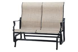 Glider Patio Furniture Patio Furniture Loveseat Glider Outdoor Replacement Cushions