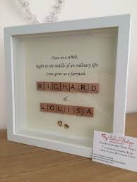 wedding gift craft ideas best 25 scrabble frame ideas on box frames