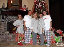 my family s pajama tradition design dazzle