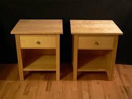 vintage contemporary maple nightstand u2014 decor u0026 furniture