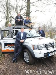 land rover one one millionth land rover discovery on fundraising expedition to