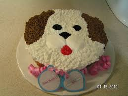 dog cake puppy dog cake i just finished this cake for a 9 year girl