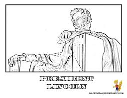 16 2 usa president lincoln coloring pages kids boys gif