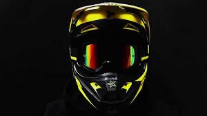 fox v1 motocross helmet fox v1 rockstar helmet youtube