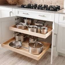 Kitchen Cabinet Storage Baskets Best 25 Pot Storage Ideas On Pinterest Pot Organization Pan