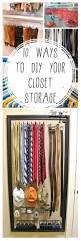 Storage Closet 10 Ways To Diy Your Closet Storage