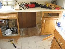 how to install base cabinets with dishwasher installing dishwasher in existing cabinets dishwasher