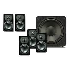 prime satellite 5 1 surround sound system home theater speakers