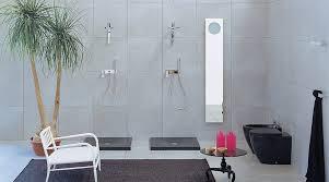 bathroom design simply luxury slate wall open shower master