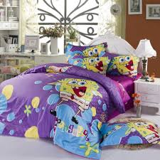 Spongebob Bedding Sets Purple Spongebob Size Cover Bedding Much In Demand By The