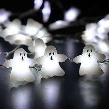 halloween ghost string lights 2018 happy halloween ghost shape string lights home decor by impress
