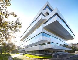 inside bmw headquarters zaha hadid u0027s dominion office building in moscow boasts a space age