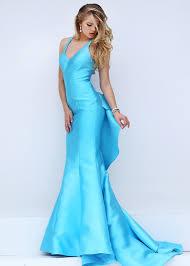 Light Blue Mermaid Dress Hottest Trend Fashion Sherri Hill Dresses Sherri Hill Spring Prom