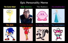 Personality Meme - my version of the personality meme by totallydeviantlisa on deviantart