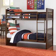NE Kids Pulse Mission Style Twin Over Twin Bunk Bed Wayside - Ne kids bunk beds