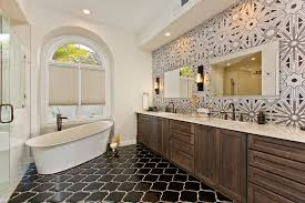 Art Deco Tile Designs Houzz Room Of The Day Art Deco Tile Dazzles In A Master Bathroom