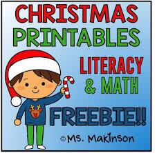 231 free christmas resources activities images