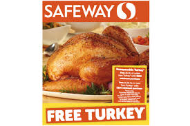 how to get a free thanksgiving turkey save coupons