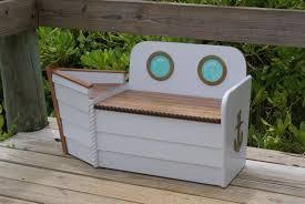 toy box toy chestnautical toy box free shipping white