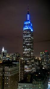 empire state building lights tonight light it up blue change by doing