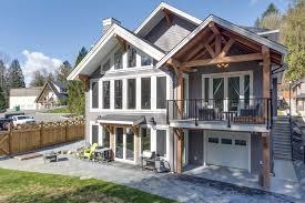 straiton timber frame home backyard streamline design ltd