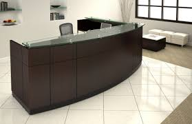 Willow Bow Front Reception Station Houston Office Furniture - Used office furniture sacramento
