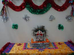 how to decorate janmashtami at home home design planning fresh