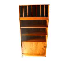 mid century storage cabinet century danish tall teak vinyl storage cabinet