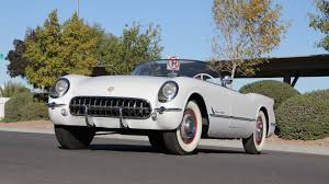 corvette auctions 1953 chevrolet corvette roadster s124 rogers car