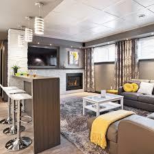 Idee Appartement Moderne by Un Sous Sol Familial Et Convivial Sous Sol Inspirations
