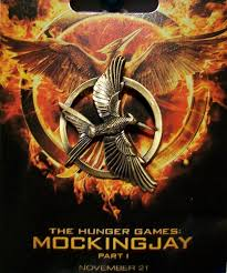 amazon com the hunger games mockingjay pin office products
