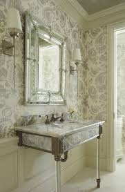 Powder Room Wallpaper by Home Decor Black And White Powder Room Photos Hgtv