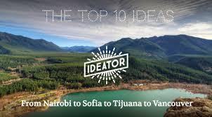 the top 10 ideas ideator