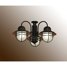 Patio Ceiling Fans With Lights 362 nautical outdoor ceiling fan light