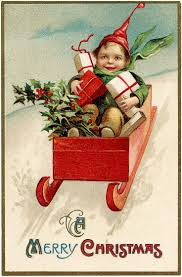 1082 cards christmas vintage 3 images