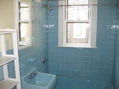1961 ad blue bathroom tile by american olean vintage bath ceramic