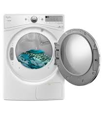 whirlpool wed9290fw 27 inch duet series 7 4 cu ft electric dryer