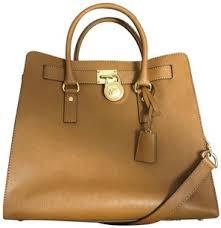 light brown mk purse michael michael kors hamilton large north south brown saffiano