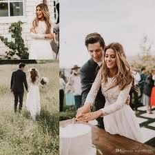 2018 elegant vintage secret country style lace wedding dresses
