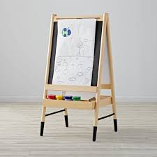 sweet kids easels wayfair n sided flipchart easel in kids art