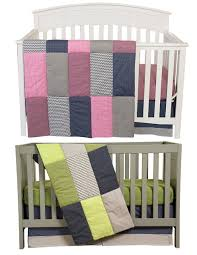 Nursery Bedding Sets For Boy by Matching Pink And Green Boy Girl Nursery Bedding Sets For Twins