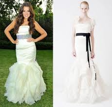 celebrity wedding dress style preowned wedding dresses