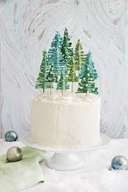 29 of the most beautiful christmas cakes forest cake tree
